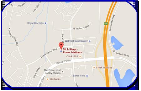 Pooler, GA Map