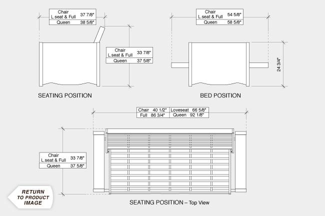 Dimensions Of A Futon Home Decor