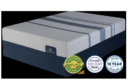 Serta iComfort Blue Max 1000 Plush Mattress Image