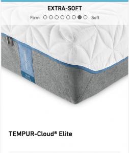 Tempurpedic Tempur-Cloud Elite Mattress Image