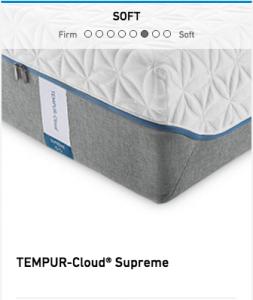 Tempurpedic Tempur-Cloud Supreme Mattress Image