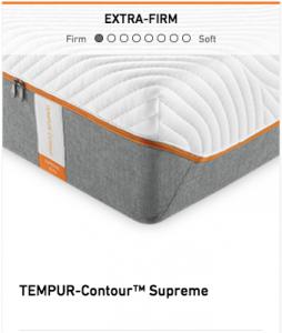 Tempurpedic Tempur-Contour Supreme Mattress Image