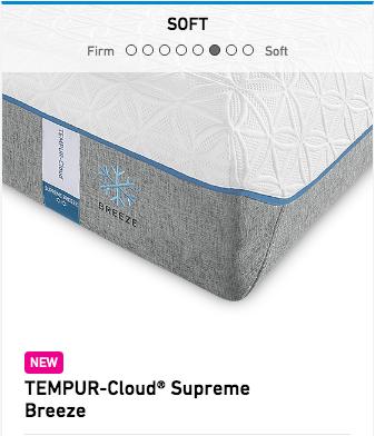Tempurpedic Tempur-Cloud Supreme Breeze Mattress Image