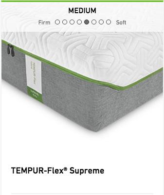 Tempurpedic Tempur-Flex Supreme Mattress Image